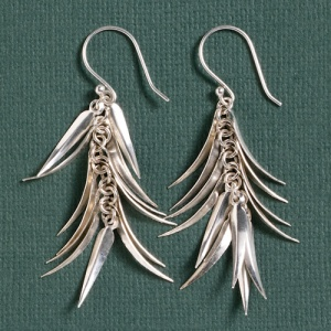 Feathered Drop Earrings from SERRV.ORG